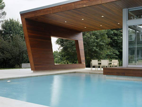 beautiful pool house interiorzine