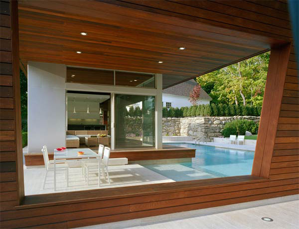 Beautiful Pool House 4 house swimming pool