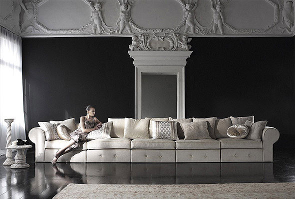 Luxury Ideas and Decor by Cattelan Italia baroque style