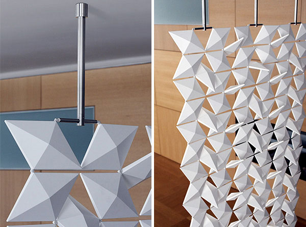 Contemporary room divider elements 3