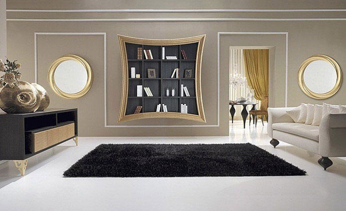 Artistic and Luxury Frames gold elements