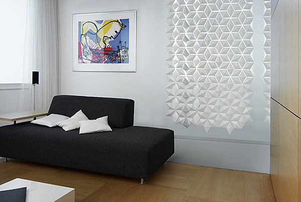 Contemporary room divider interior 1