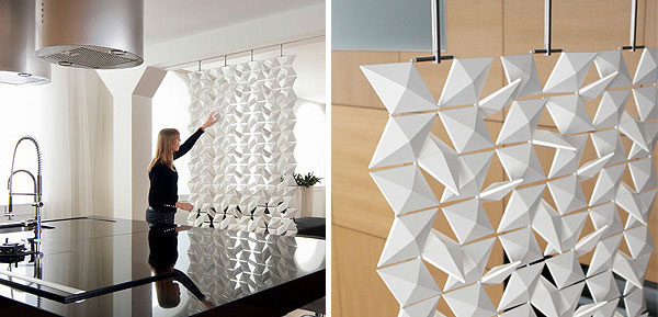 Contemporary room divider interior divider 4