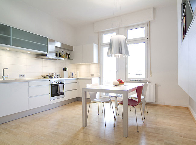 Living space kitchen
