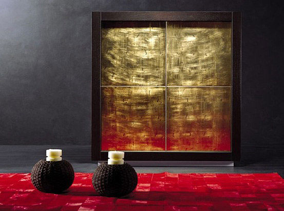 Luxury Sideboards red carpet gold cupboard