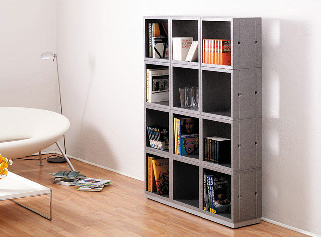 Airsquare by Oliver Schick shelving system