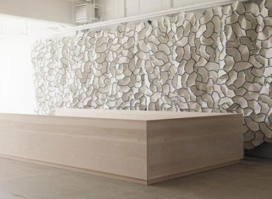 White Wall Art Installation 86