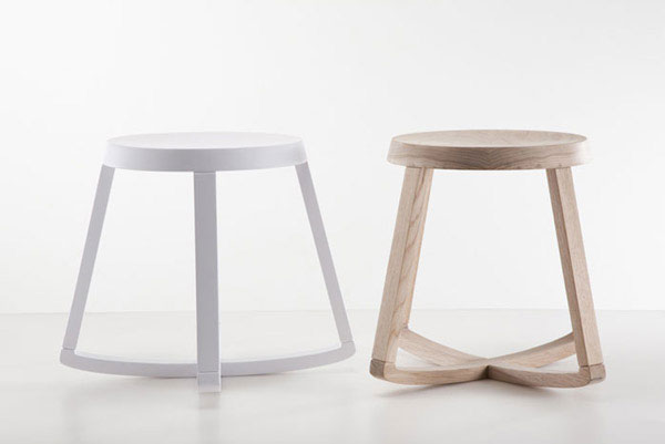 Simple, practical and sophisticated stool rocks