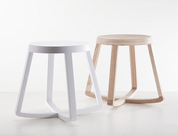 Simple, practical and sophisticated stool