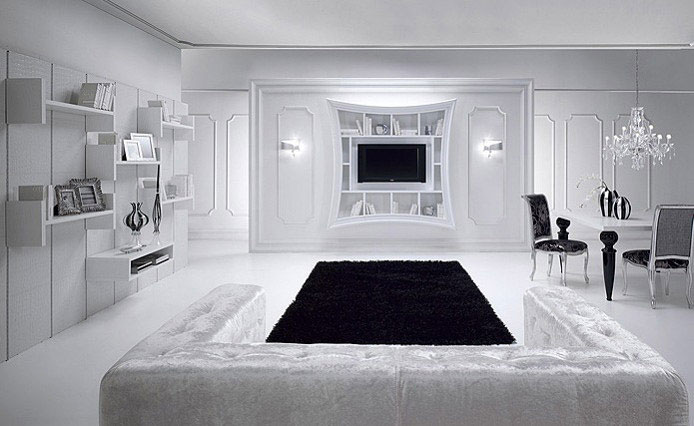 Artistic and Luxury Frames white interior