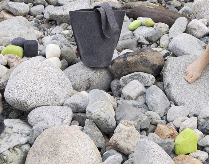 Felt Rocks InteriorZine