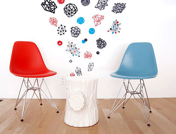 Wall Decals for Urban Interior art products