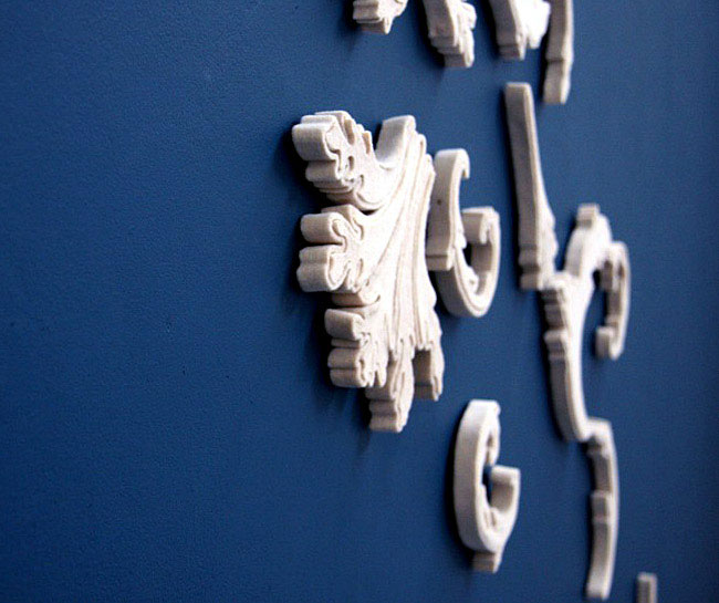 Wall Decor by Rachel Horrocks closeup basic baroque