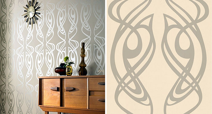 Wallpaper Design by Barbara Hulanicki diva wallpaper1
