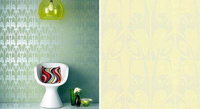 Wallpaper Design by Barbara Hulanicki hula wallpaper1