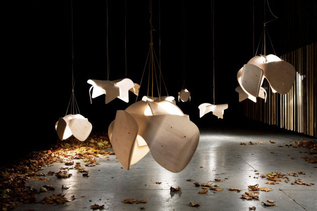 Suspended Objects That Resemble Jellyfish Interiorzine