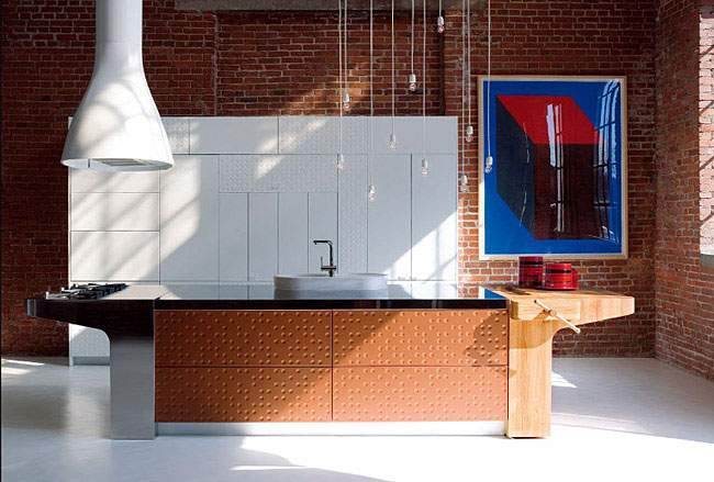 Functional and Modern Kitchen by Schiffini  modern kitchen