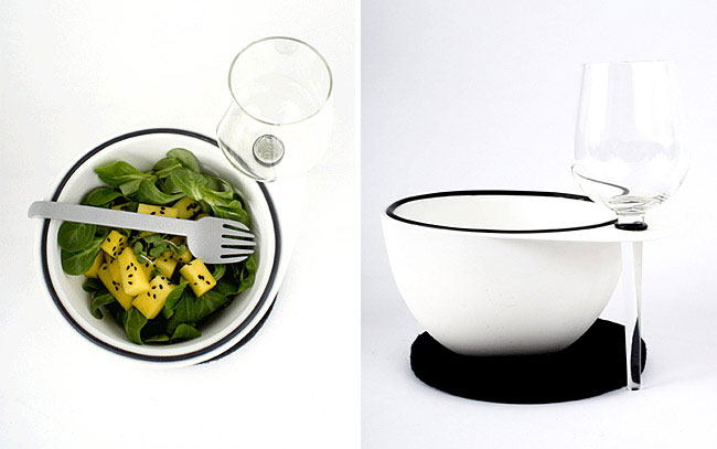 Design Inspired by Bar Codes ollo salad