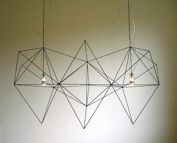 Lighting Design by Nathalie Dewez prism llamp