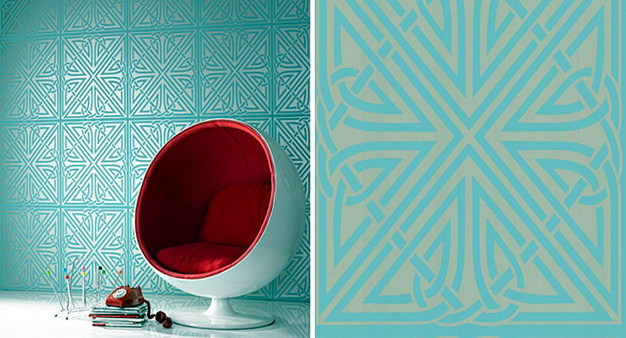 Wallpaper Design by Barbara Hulanicki viva wallpaper1