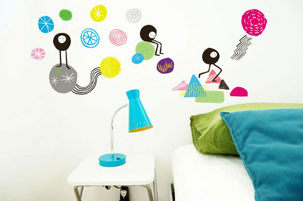 Wall Decals for Urban Interior wall decals