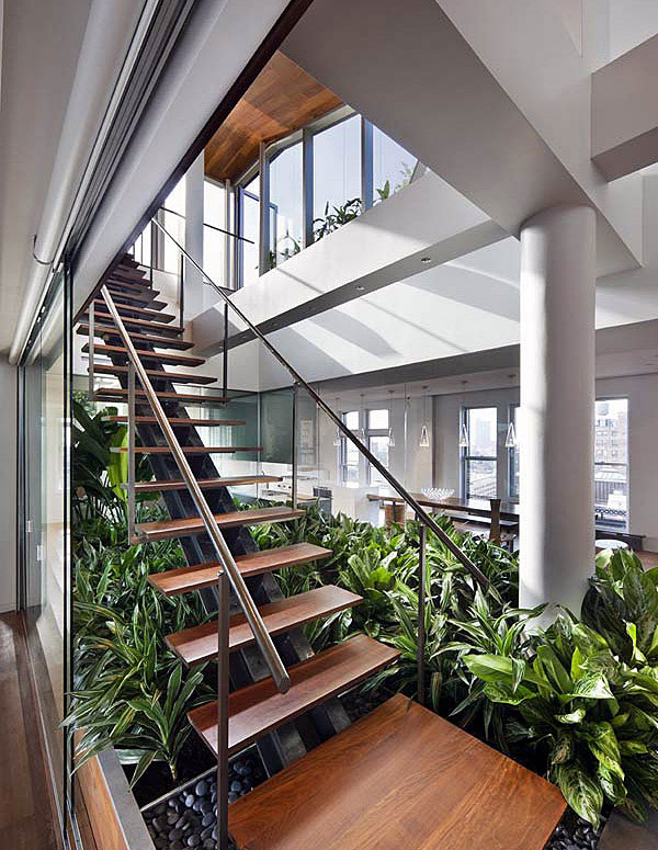 Green Architecture Design eco friendly loft