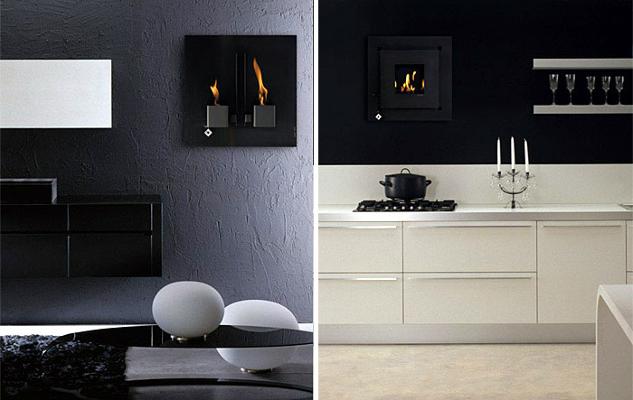 Wall Mounted Fire Places fireplaces