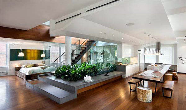 Green Architecture Design green living space