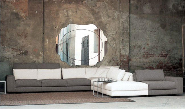 Ergonomic sofas by Mussi  innovative assembly system