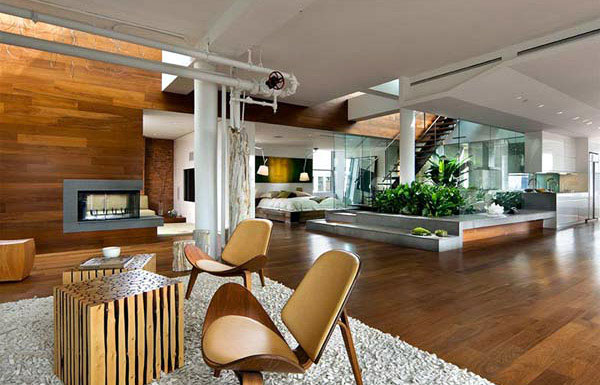Green Architecture Design living space