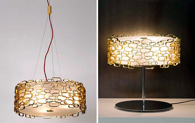 Glamour Lamp from Terzani luxurious lamp