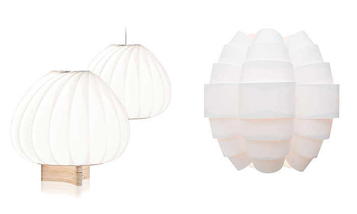 Tom Rossau with New Veneer Lamps northern light