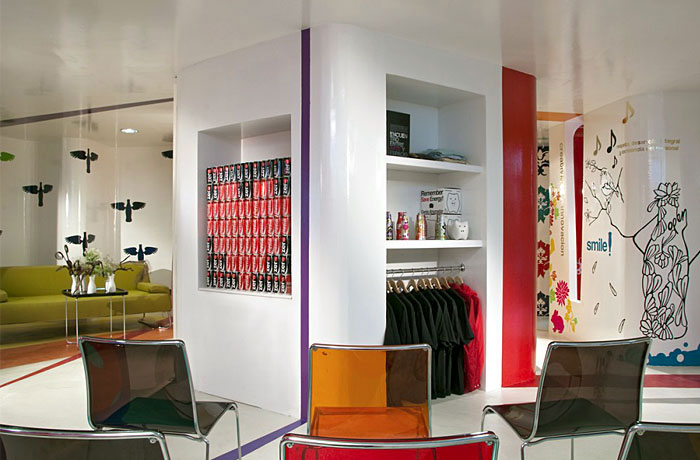 Espacio C Mixcoac for Coca Cola snacks bar
