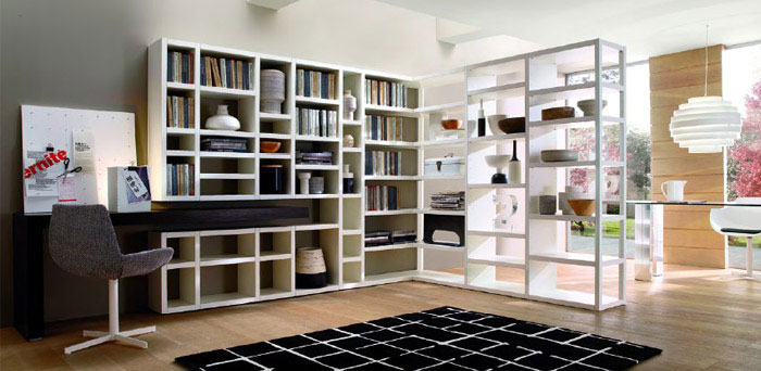 Crossing Collection of Bookcase decorative elements
