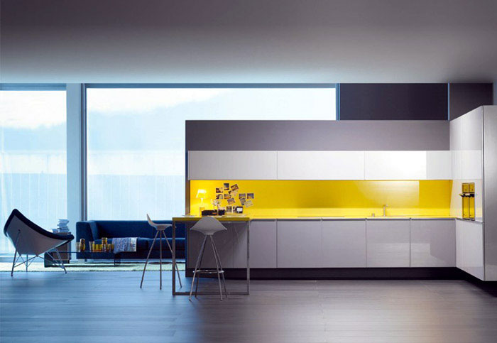 Delightful L shape Kitchen modern kitchen furniture