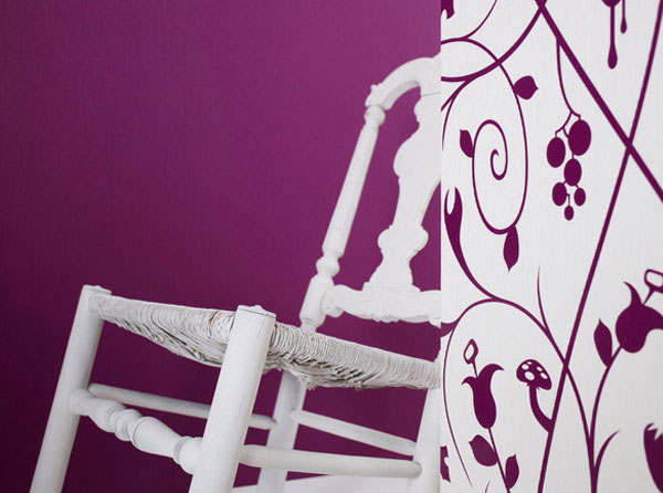 Classical Wallpaper Collection wallpaper purpul