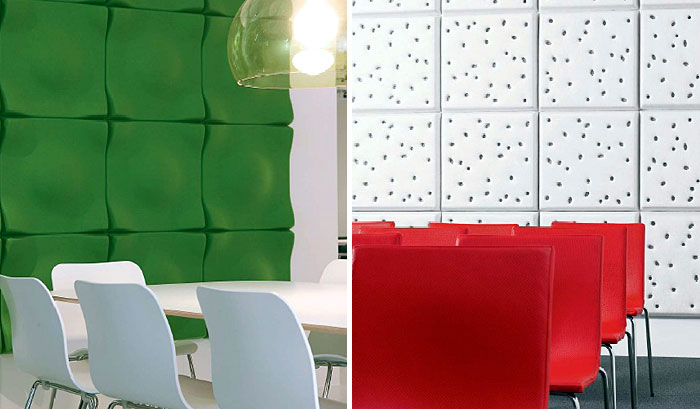 Acoustic Design By Offecct Interiorzine