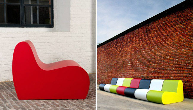 Design Furniture by Sixinch coated foam furniture