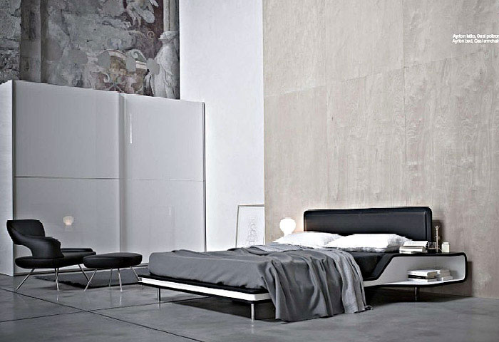 Frighetto gets more stylish every day contemporary bed
