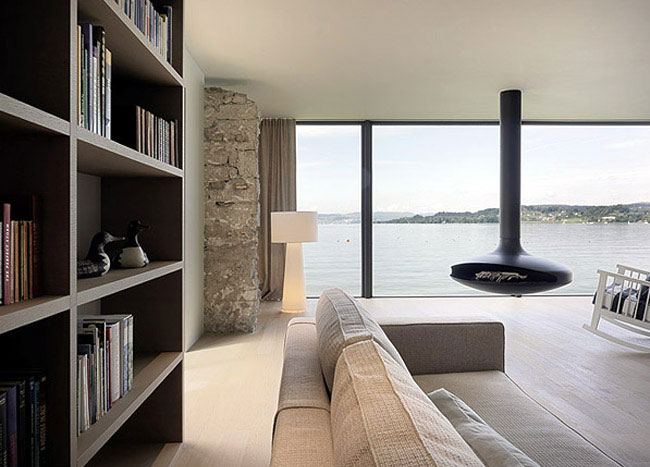 Coastal House Design contemporary interior