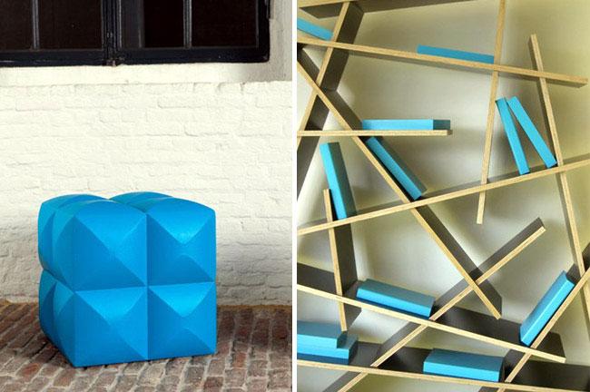 Design Furniture by Sixinch shelf design