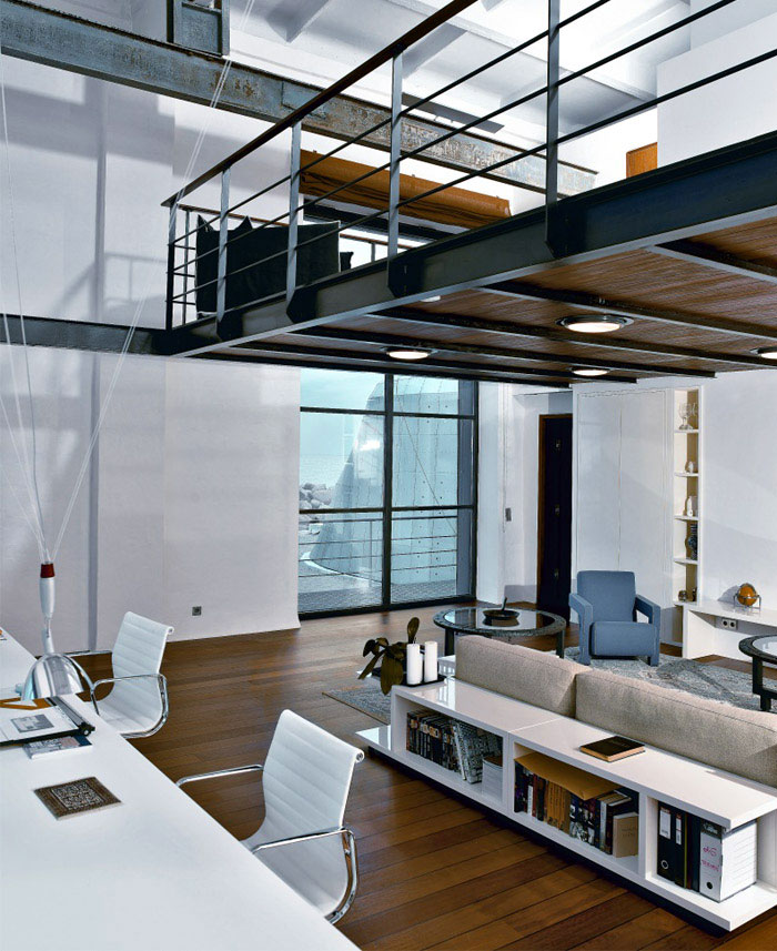 15 Amazing Interior Design Ideas For Modern Loft: Modern House On The Island