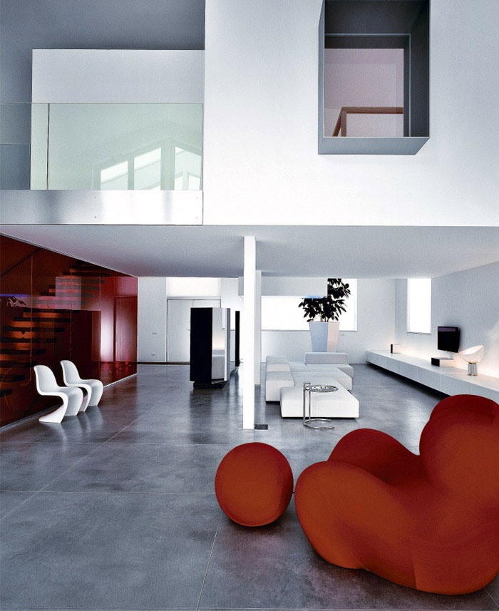 Modern Houses in Busto Arsizio, Italy classic loft