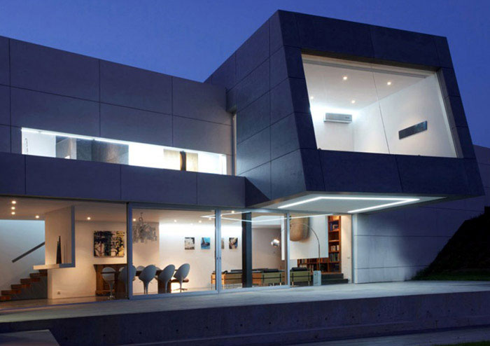 Modern House in Santander interior exterior spaces
