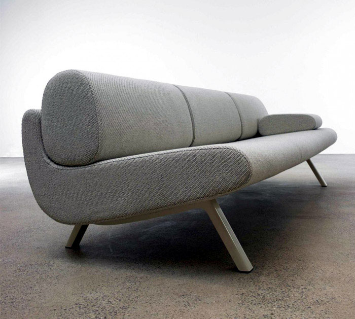 In Duplo Sofa Series organic body sofa