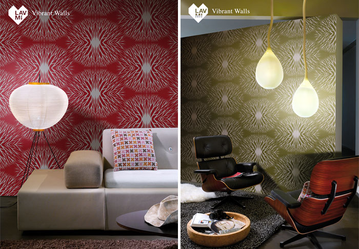 Lavmi's three new designer wallpaper collections  spirit aura new wallpaper collection