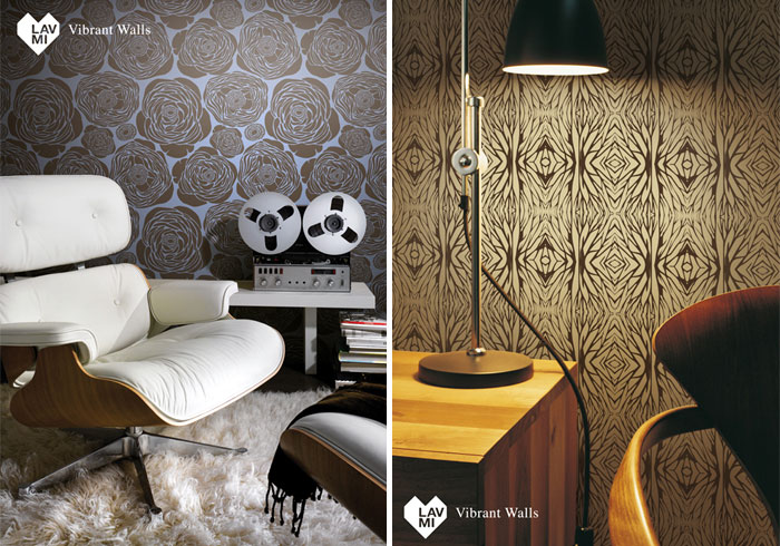 Lavmi's three new designer wallpaper collections  spirit tears new wallpaper colection