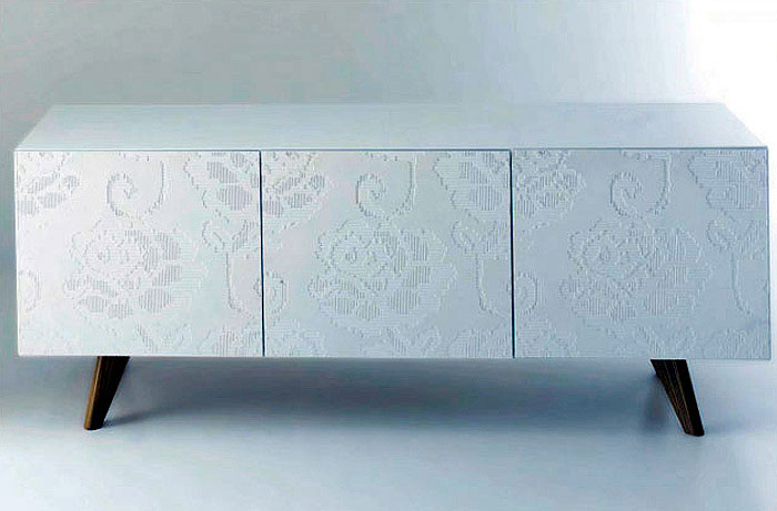 Three Dimensional Lace truly beautiful furniture