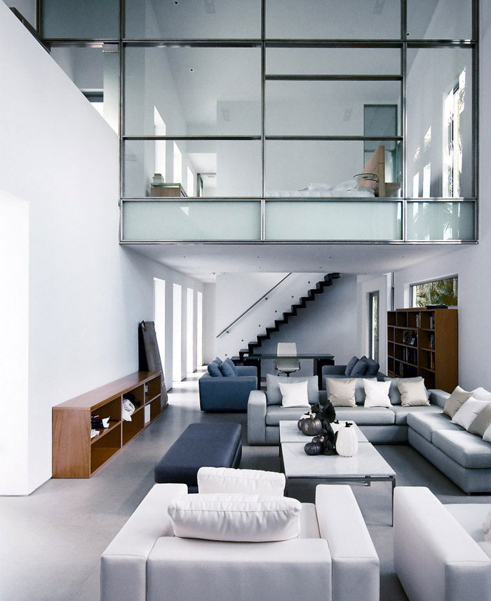 Modern urban family house interiorzine Contemporary urban living room