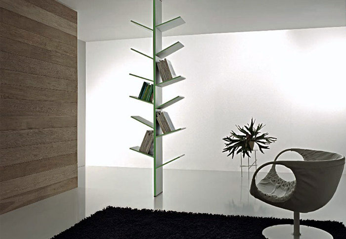 Modern Bookshelves Inspired by the Nature  awesome furniture fargus